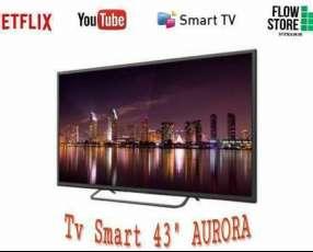Smart TV Aurora de 43 pulgadas