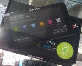 Tablet Hyundai solo wifi nuevo + goma