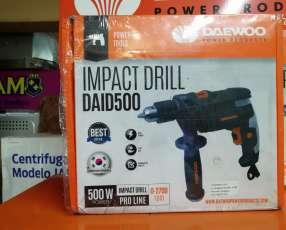 Taladro de impacto Daewoo 500W