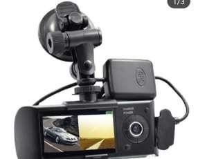 Cámara de doble lente automática