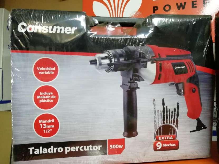Taladro percutor Consumer - 1