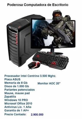 Computadora de mesa profesional
