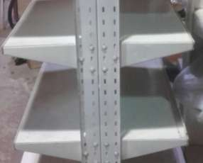 Góndola de metal de 4 niveles