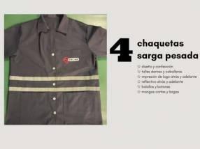 Uniformes empresariales Chalecos y pantalones Adren Atelier