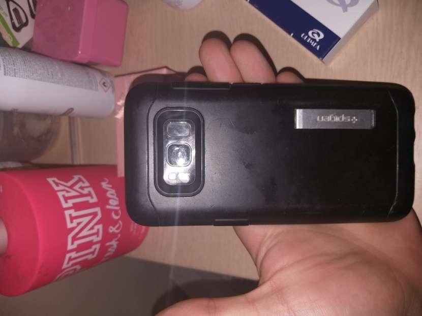 Samsung Galaxy S8 usado con display dañado - 1