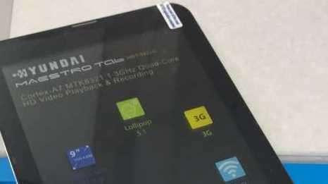 Tablet Hyundai a chip de 9 pulgadas - 1