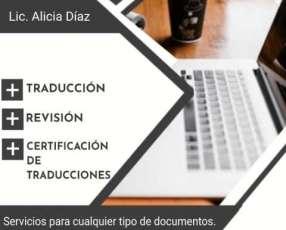 Servicios de Traduccion Español-Ingles