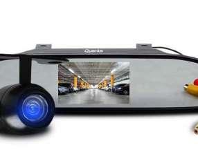 Cámara de pantalla de reversa con LCD