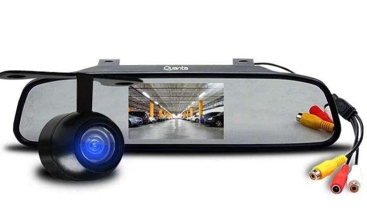 Cámara de pantalla de reversa con LCD - 0