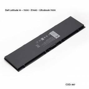 Batería PFXCR Dell Latitude 14 Ultrabook 7000