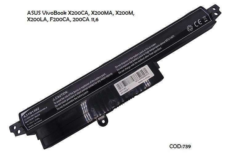 Batería A31N1302 para Asus VivoBook X200 Series - 0