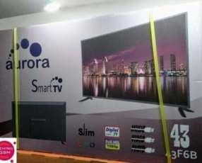 TV Aurora 43 pulgadas Smart Full HD