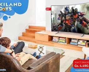 Smart TV Kiland 4K Curvo de 65 pulgadas