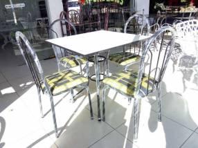 Juego de comedor económico 4 sillas