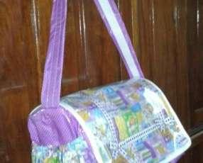 Bolsón para bebé niña lila