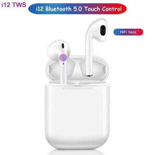 Auriculares Bluetooth i12 TWS - 2