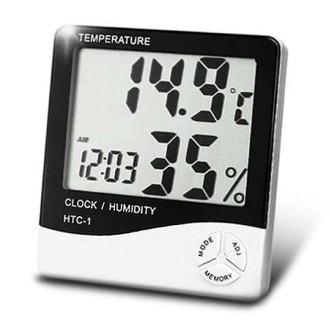 Termohigrómetro Digital LCD - temperatura y humedad