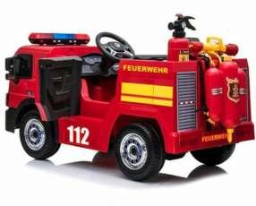 Auto Eléctrico para niños Camión de Bomberos