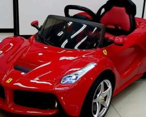 Auto Eléctrico para niños Ferrari