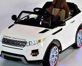 Auto Eléctrico para niños Land Rover