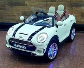 Auto Eléctrico para niños Mini Cooper