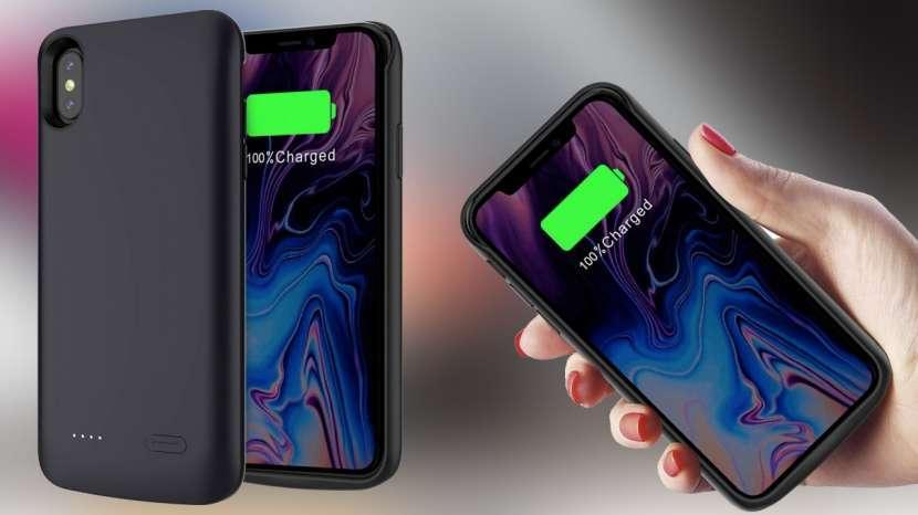Protector cargador iPhone XS Max - 0