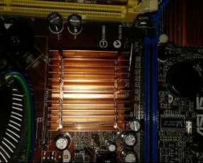 2 placas madres con procesadores