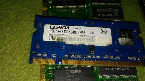 RAM DDR3 de 2 gb DDR2 para notebooks de 1 gb y de 512 mb - 2