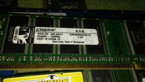 RAM DDR3 de 2 gb DDR2 para notebooks de 1 gb y de 512 mb - 6
