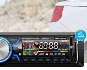 Autoradio con bluetooth y doble usb