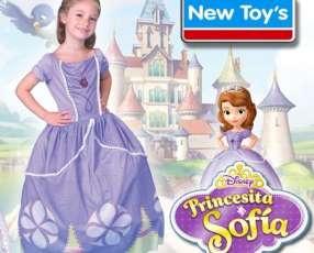 Disfraz Princesita Sofia de New Toys - Talles de 3 a 8 años!