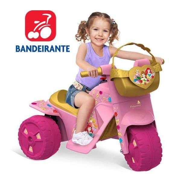 Moto Princesas Disney a Bateria de Bandeirante! - 0