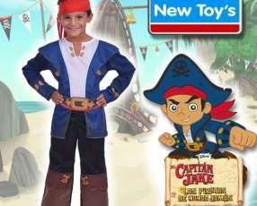 Disfraz Capitán Jake y los Piratas - Talles de 3 a 8 años!