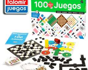 Juego de Mesa 100 juegos reunidos de Falomir