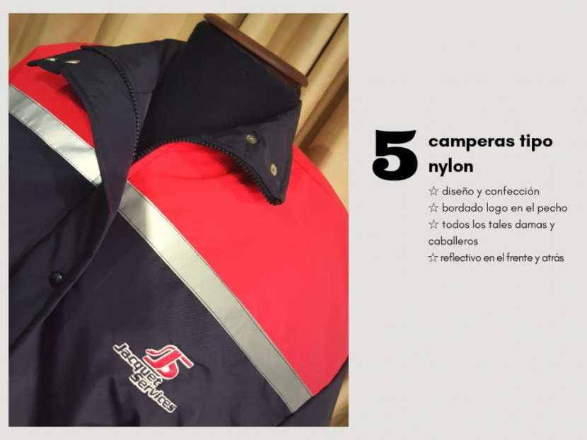 Camperas con bordados para empresas - 0