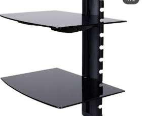 Soporte con plataforma doble de vidrio 10 kg