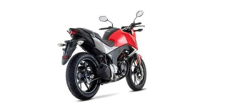 Moto Honda CB 160 F - 3