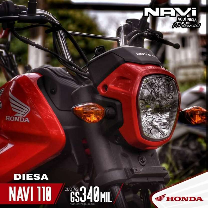 Moto Honda Navi 110 - 0