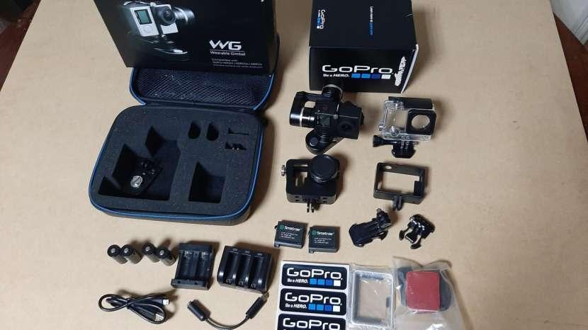 Combo cámara gopro hero 4 silver y estabilizador feiyu tech - 1