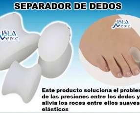 Separador de dedos silicona
