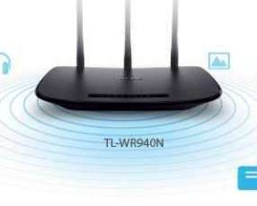 Router TP-LINK 450 MBPS 5DBI