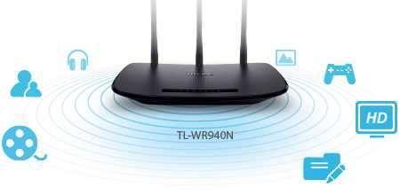Router TP-LINK 450 MBPS 5DBI - 0