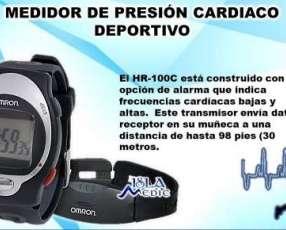 Medidor de presión cardíaco deportivo