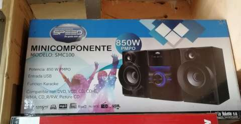 Minicomponente Speed 800W PMPO