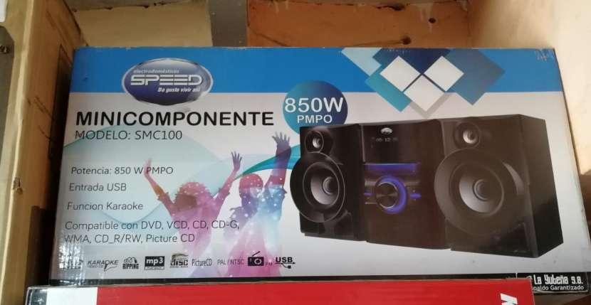 Minicomponente Speed 800W PMPO - 0