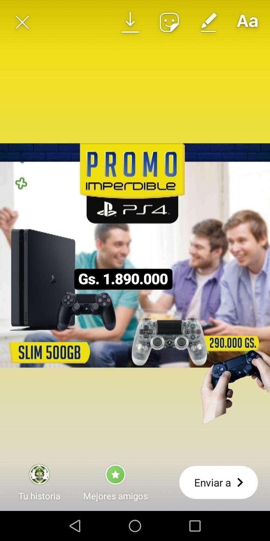 Playstation 4 500 gb slim - 0