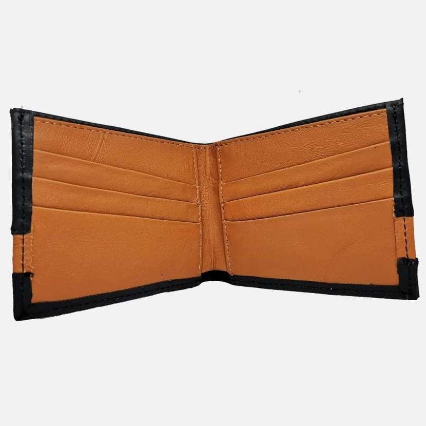 Billetera de cuero para caballeros - 5