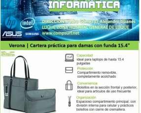 Cartera para Dama Klip Xtreme Verona laptop 15.4 pulgadas