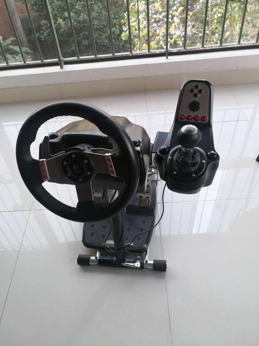 Volante simulador Logitech g27 - 0