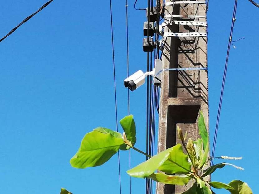 Instalación de cámaras vecinales - 3